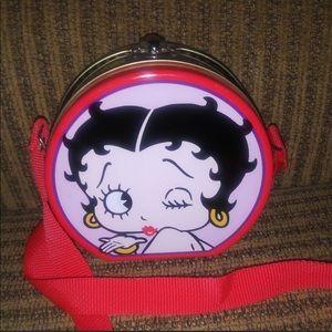 Vintage 90's Betty Boop Tin Crossbody